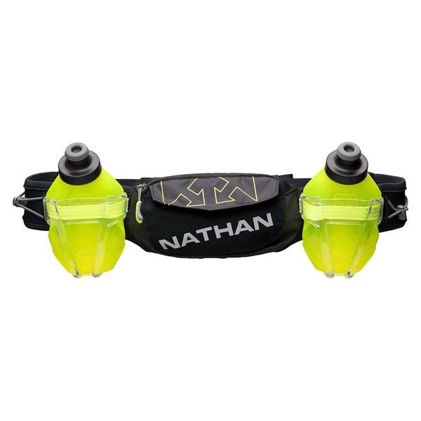 Nathan trailmix brúsabelti svart og grænt ns4640-0015