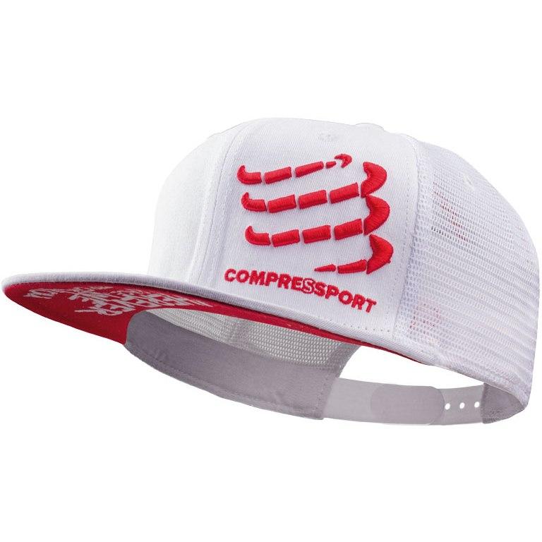 Compressport Truckercap white