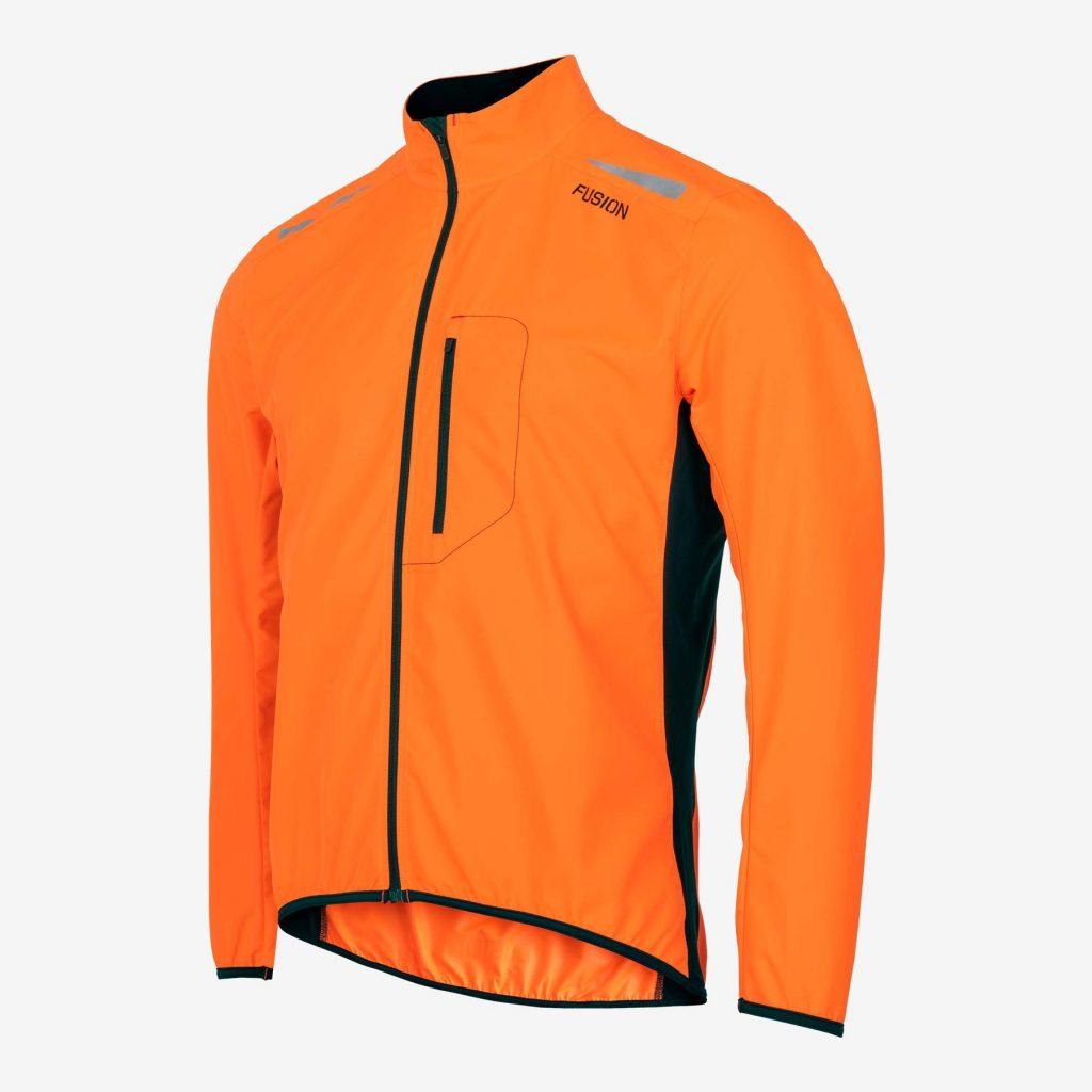 Fusion S1 kalla jakki appelsínugulur