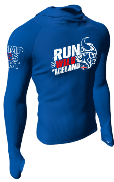Compressport RUN_WILD_IN_ICELAND peysa