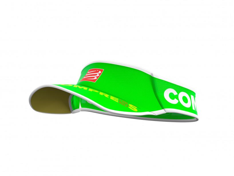 Compressport visor-fluo-green visorv2-10